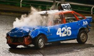 Smokin Car