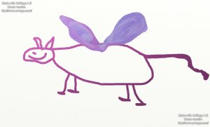 Flying Mouse as drawn by me the performing artist