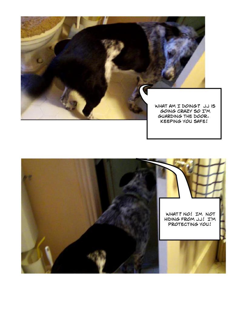 Benny the Bathroom Guard Toon