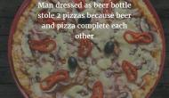 Beer steals pies