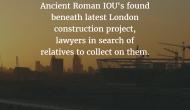 Ancient IOU's