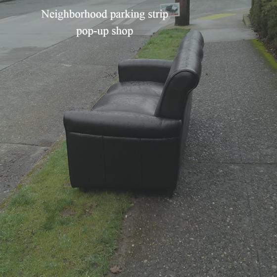 Neighborhood Pop-Up Shop